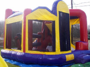 The Edge Jump House Obstacle Course Rental Maine